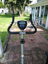 black and gray stationary bike Fairfax, 22030