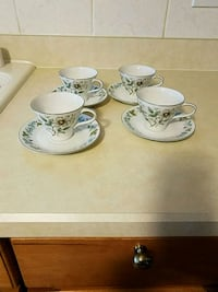 Set  Fine China cup w/plates  Springfield, 22150