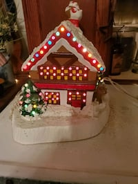 Vintage  ceramic christmas  cottage christmas tre Hagerstown, 21740