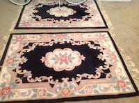 white, black, and green floral area rug Swedesboro, 08085