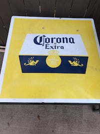 Vintage Corona Extra Tables