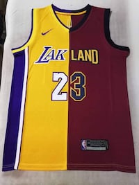 Lakland & Clevers King James Jerseys!  Surrey, V4N 1B6
