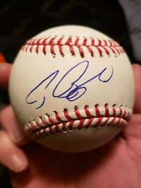 Craig Biggio signed baseball