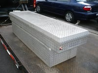 Storage Container for pickup truck-aluminum-used-good-cheap Milford