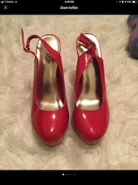 pair of red patent leather pumps Germantown, 20874