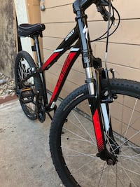 """24"""" specialized Hot-Rock mountain bike w/ front shock. Just sat in garage, like new. Paid about $400 at Whittier Cycle bike shop.  Only asking$250 OBO Whittier, 90605"""