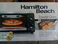 New Toaster Oven by Hamilton Beach