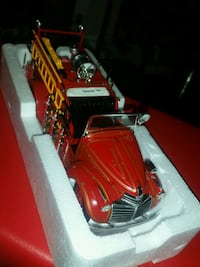 Fire Trucks for TRADE with 1:18 Scale diecast  Kitchener, N2E 1P1