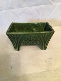 square green and black ceramic bowl Frederick