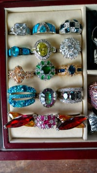 Rings, rings and more rings! Victoria, V8X 3Z1