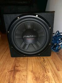 BRAND NEW SUBWOOFER AND AMP