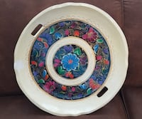 BEAUTIFUL HAND PAINTED MEXICAN BOWL Olathe