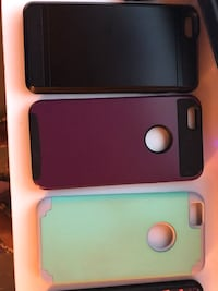 two black and pink iPhone cases Lexington, 40505