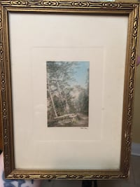 Wallace Nutting untitled nature print