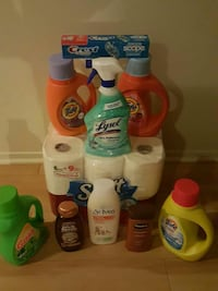 assorted detergent and toiletry items Detroit, 48226
