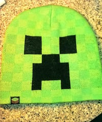 Minecraft Creeper Face Knit Beanie   Vancouver, 98682