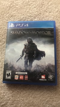 Shado of Mordor PS4 Game Mount Airy, 21771