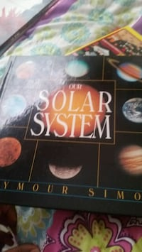 Solar system educational book Frederick, 21701