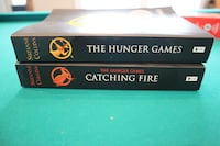 Hunger Game Books.  Thorold