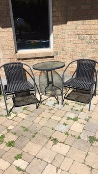 Two chairs and table Pickering, L1V 5V6