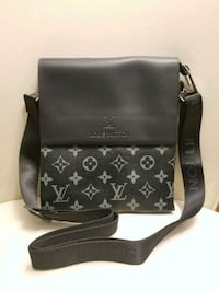 LV leather messenger bag  Montreal, H3W 1H1