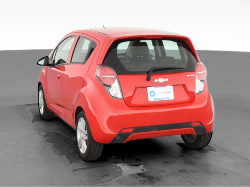 2014 Chevy Chevrolet Spark hatchback LS Hatchback 4D Red  81a442ce-4f6e-4c52-abc0-ce9eec73bee8