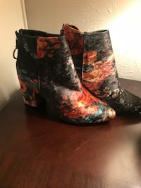 New floral booties  Dallas, 75223