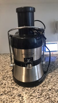 stainless steel and black power juicer Richmond Hill, L4B