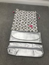 Hairdryer Travel bag & 2 curling iron travel cases