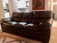 Leather couch Need Gone  Oklahoma City, 73013