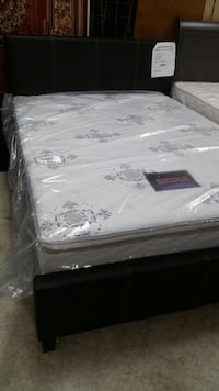 Brand new full size platform bed with pillowtop mattress Silver Spring, 20901