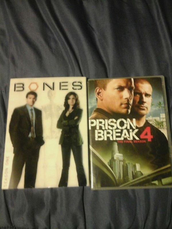 Bones And Prison Break 4 Tv Series Dvd