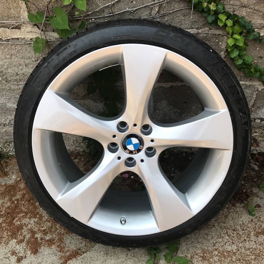 Used BMW Wheels 21 5-spoke Style 311 Rims Tires In New York