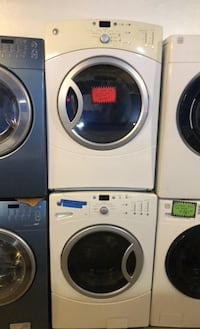 GE front load washer and dryer set washer and dryer set