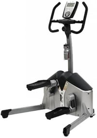 gray and black elliptical trainer Katy, 77449