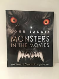 Monster movie book
