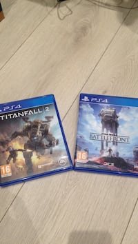 Star wars battlefront & Titanfall 2