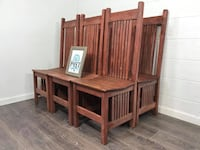 6 rustic indoor/ outdoor chairs  Canby, 97013
