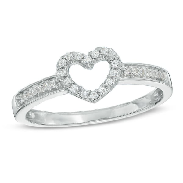 1/10 CT diamond ring
