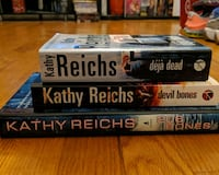 Collection of Kathy Reichs Books