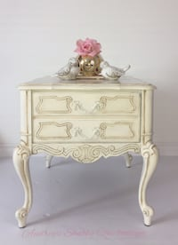 Romantic French Style Nightstand Richmond Hill