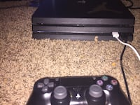 black Sony PS4 console with controller Omaha, 68111
