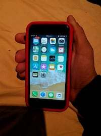 space gray iPhone 7 with red case Los Angeles, 91331