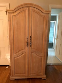 Solid Oak Armoire