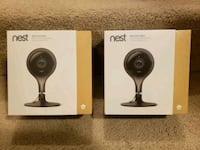 2x Sealed Nest Cam Indoor Camera 1080p Silver Spring, 20906