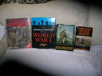 Four (4) books on America in WW 1 Springfield