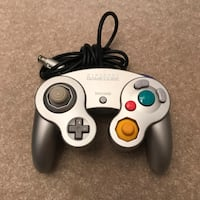 Original silver platinum nintendo gamecube controller wired tested cleaned Burtonsville, 20866