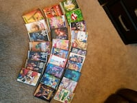 27 DVDs kids movies assorted