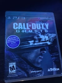 Call of Duty GHOSTS Ps3 Vaughan, L6A 1B8
