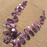 Purple color beaded necklace Fairfax, 22030